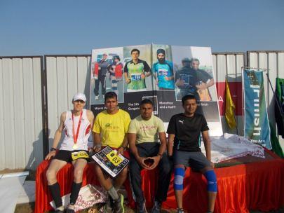 (L-R) Henrik Westerlin, Devender Chauhan, Anil Kumar and Krishan Chauhan